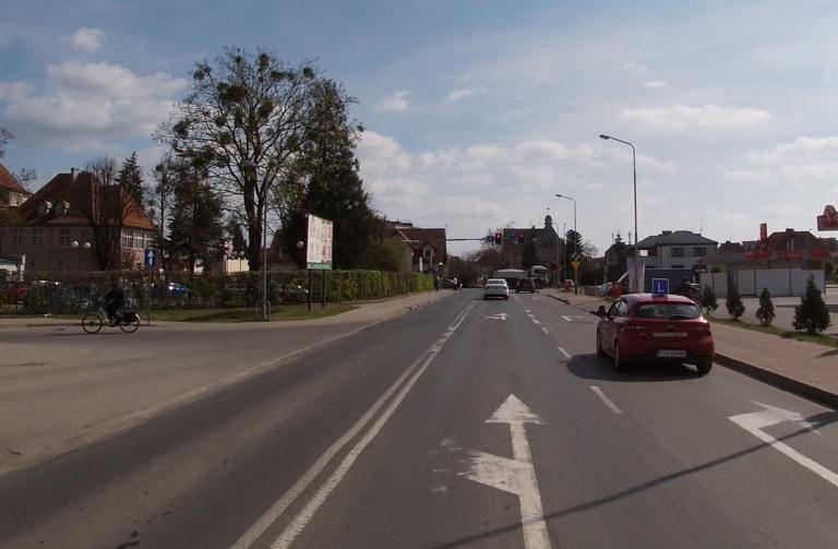 nauka jazdy na ulicy miasta