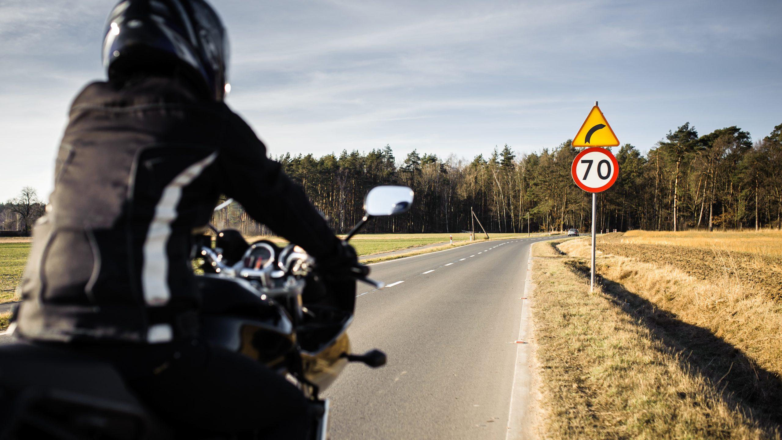 motocykl motocyklista