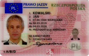 dokument prawa jazdy